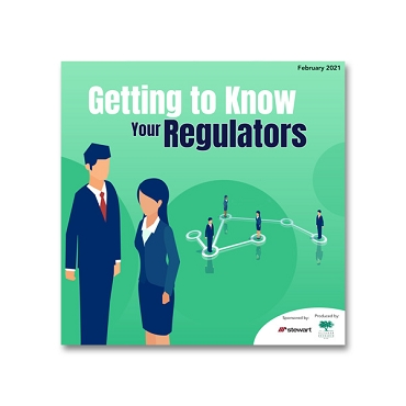 Getting to Know Your Regulators webinar