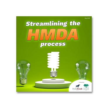 Streamlining the HMDA Process webinar