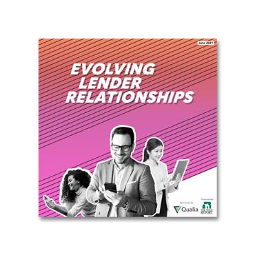 Evolving Lender Relationships 2021 webinar